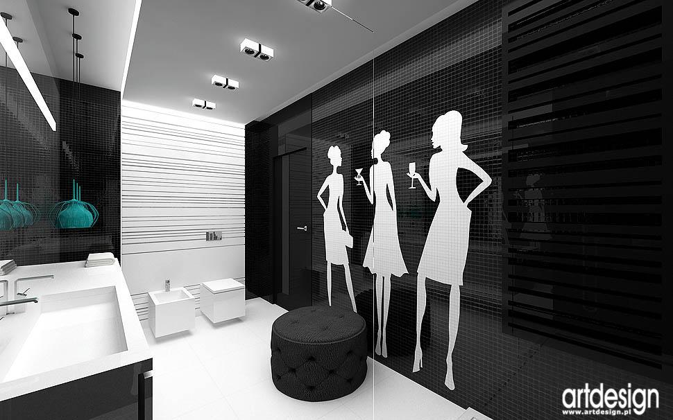 aranżacja wnętrza nowoczesnej łazienki