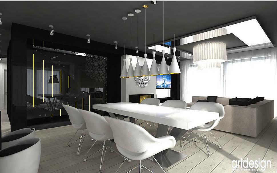 architektura wnętrz jadalnia nowoczesna