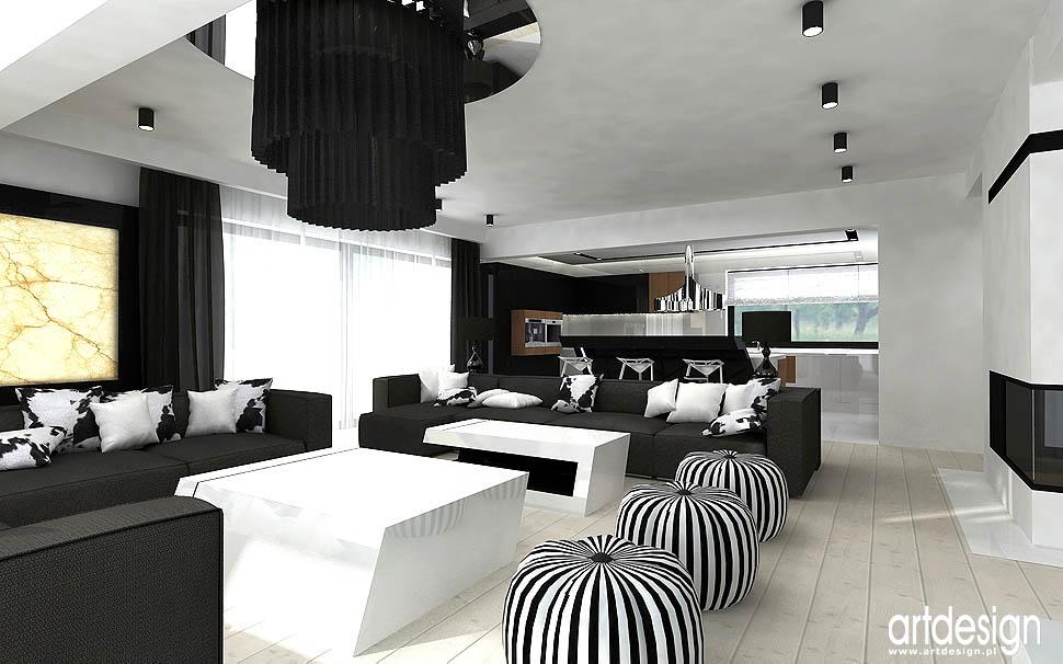 projekt wnętrz salon apartament