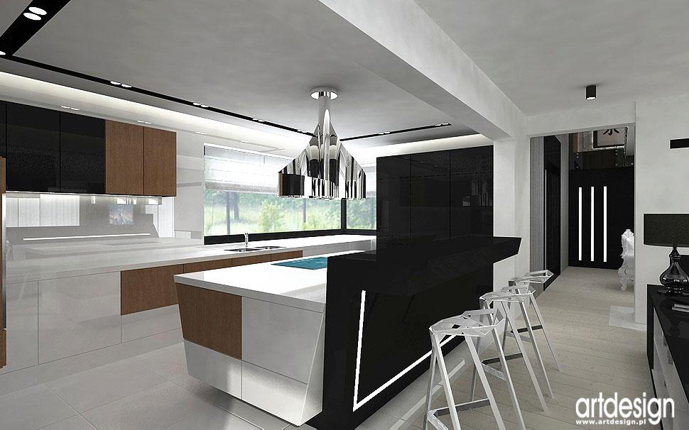 onyx wnętrza kuchnia jadalnia hol projektowanie