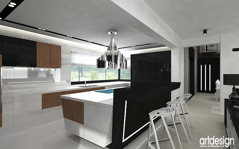 kuchnia apartament projekty design