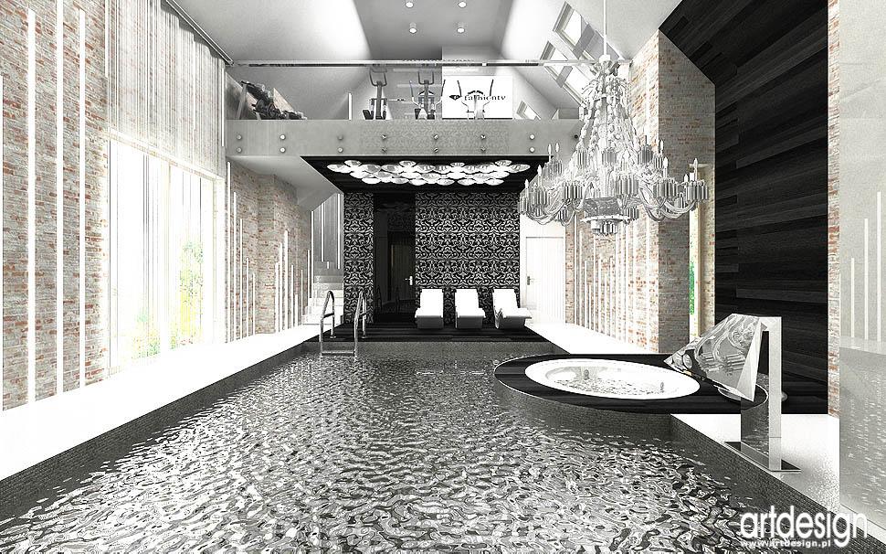 basen architektura wnętrz