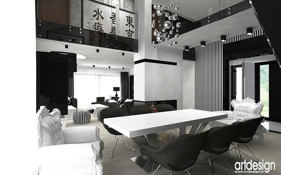 wnetrza domow nowoczesny styl projekty