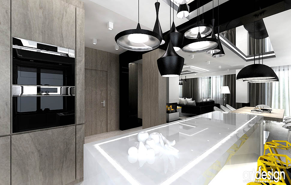 architekci wnętrza projekty kuchni domu