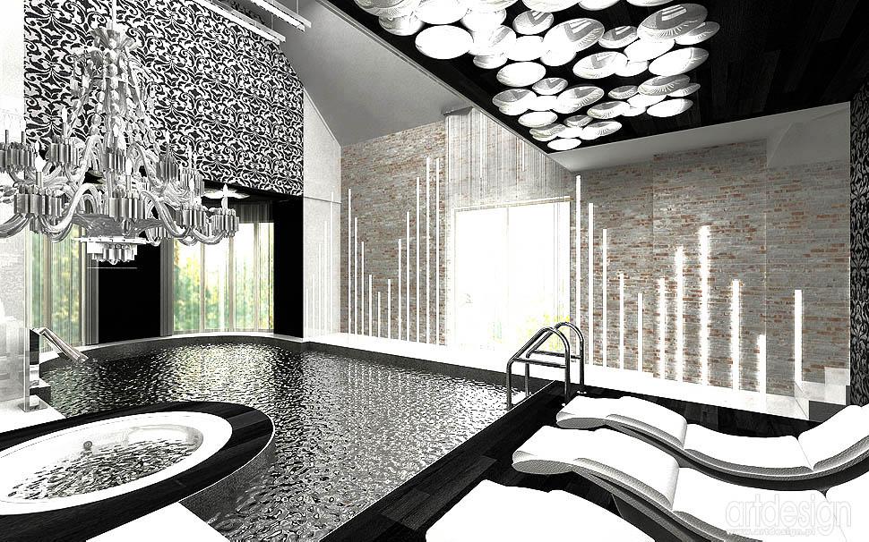 basen wnetrza design aranzacje projekty