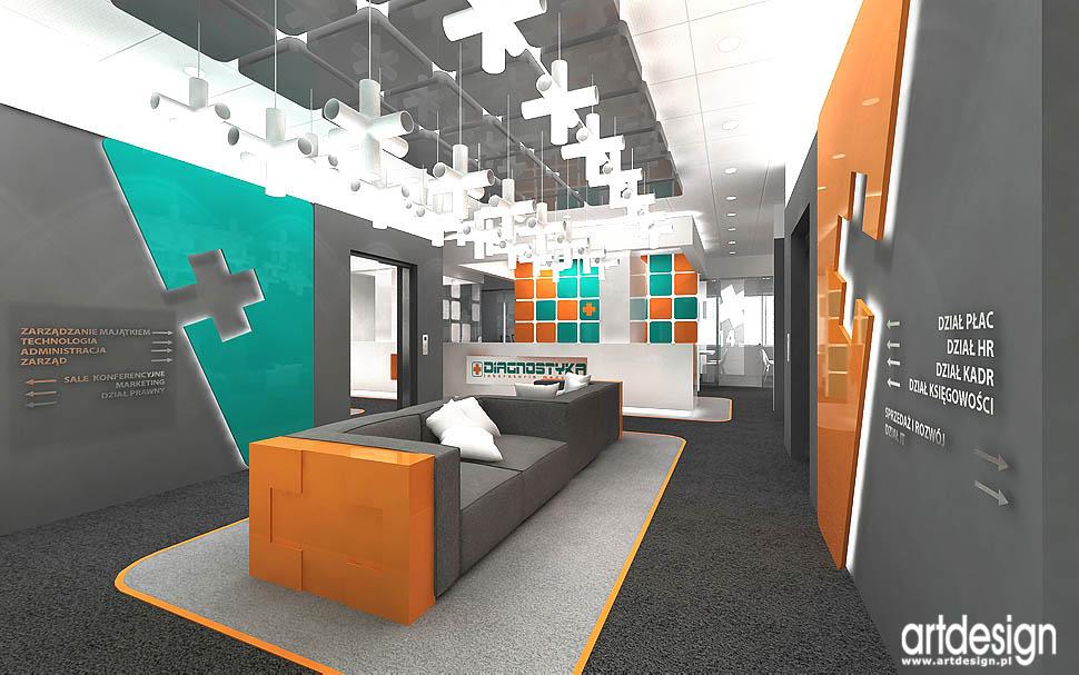 wnętrza biura projekt aranżacja design