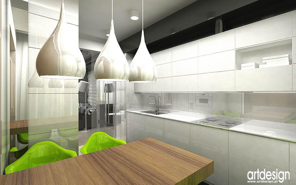 kuchnia w luksusowym apartamencie