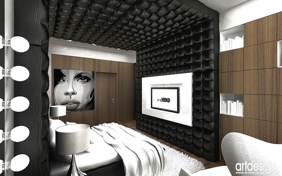 design wnetrz apartament nowoczesny