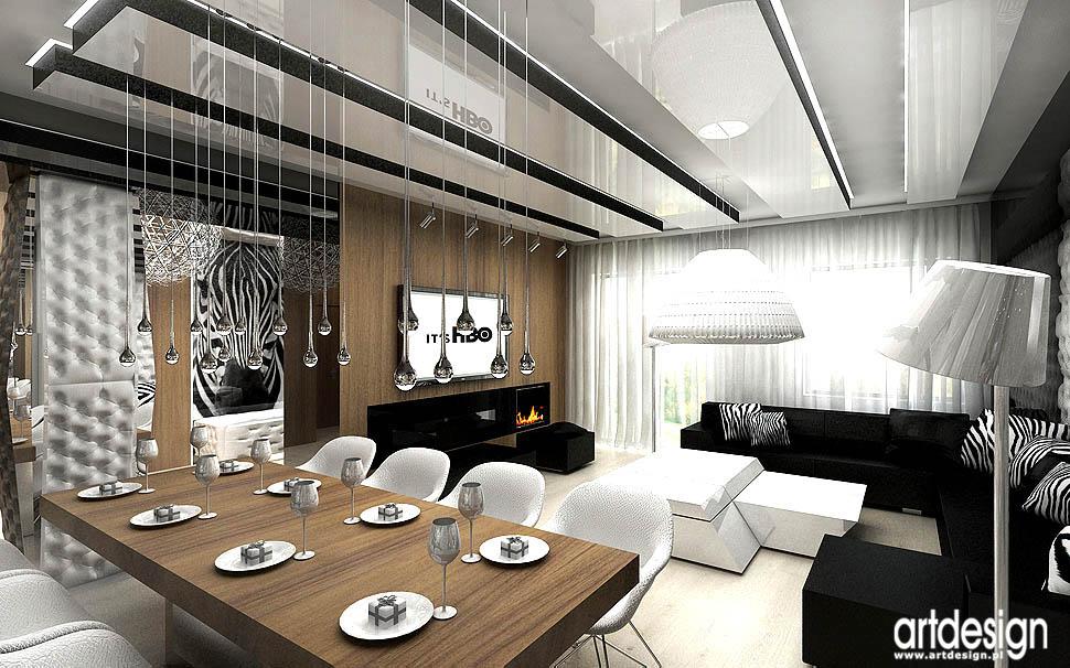 wnetrze apartamentu luksusowe designerskie wnetrza salon pokoj dzienny
