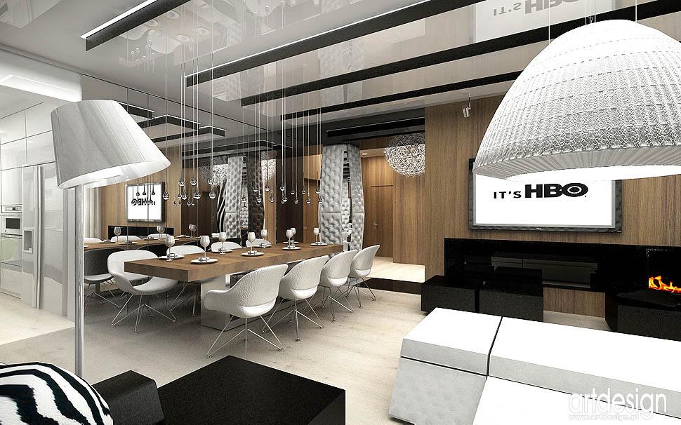 luksusowe wnetrza apartamentow projektowanie