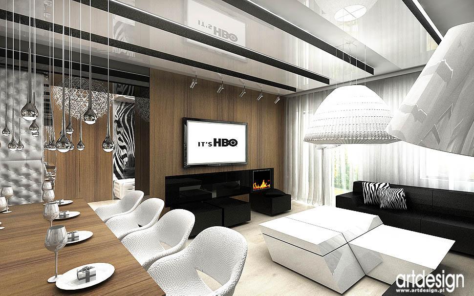 projekty najlepszych wnetrz salon pokoj dzienny design