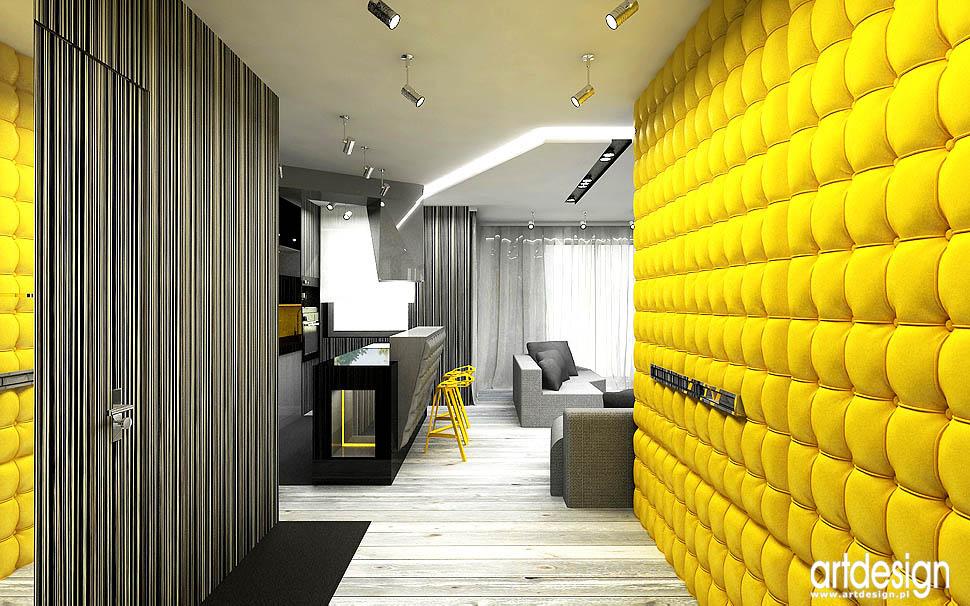 aranzacja designerskiego apartamentu