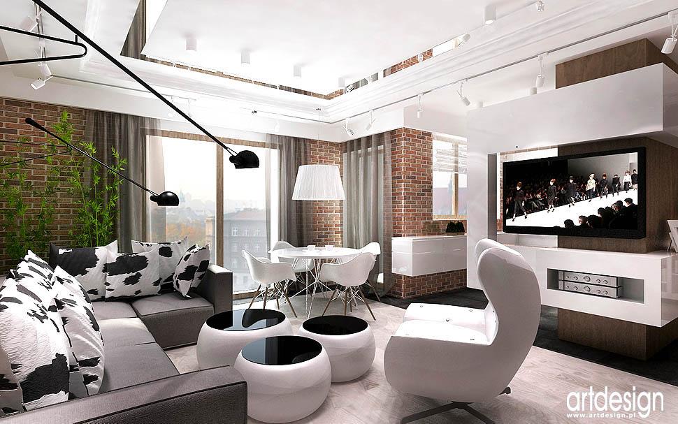 loft kraków wnetrze luksusowe