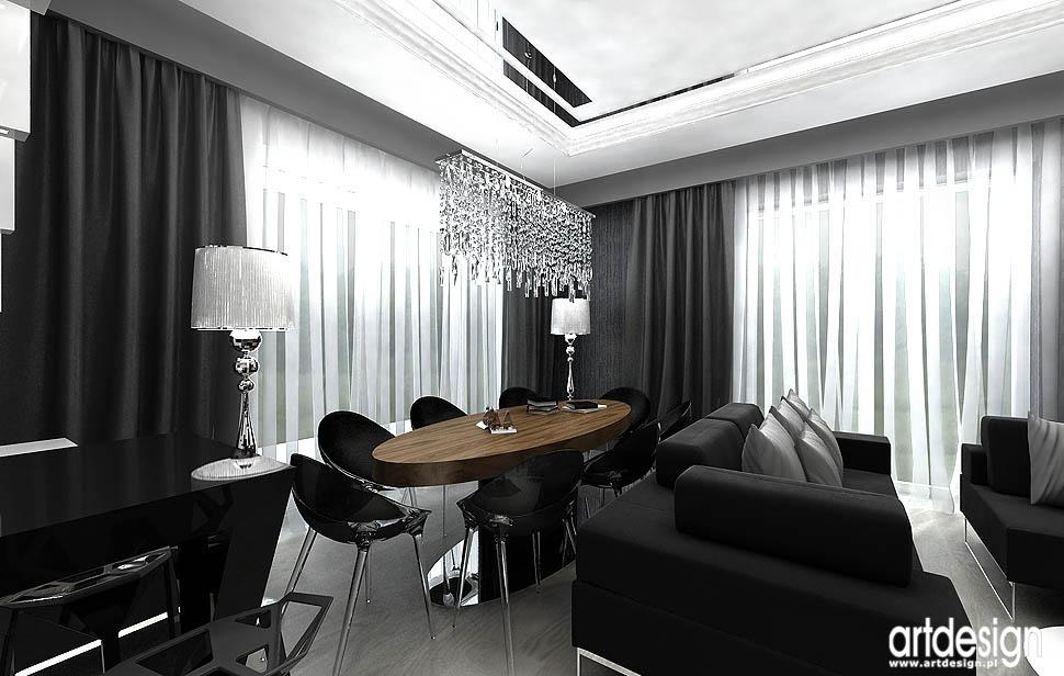 najlepsze projekty wnetrz designu apartamentow pokoj dzienny