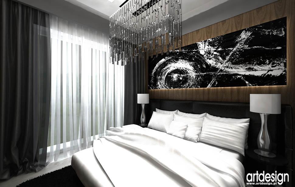 design wnetrz aranzacja dom apartament sypialnia