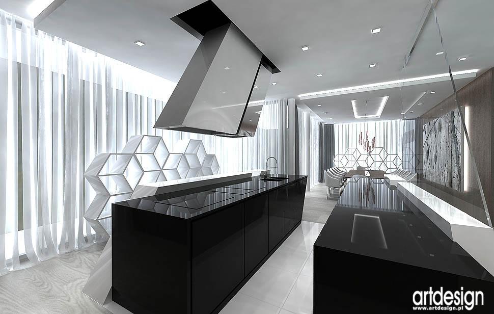 kuchnia projekty wnetrza apartamenty mieszkania angel wawel