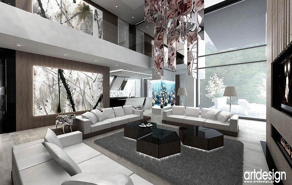nowoczesne salony domy apartament rezydencja