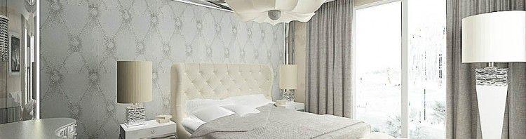 wnetrza luksusowej sypialni
