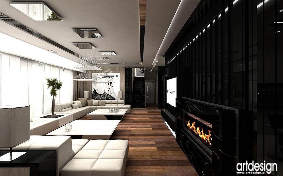 projekty wnetrz architektura najlepszy design salon dom jednorodzinny