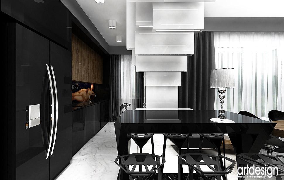 ekskluzywne wnetrza apartamentow angel wawel kuchnia aneks kuchenny