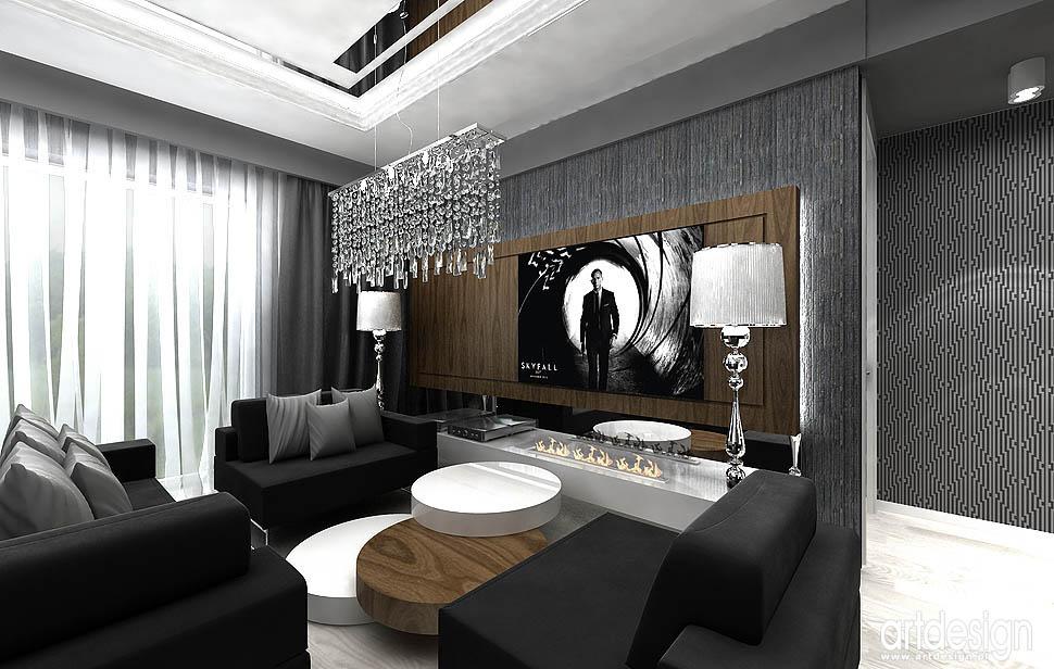 ekskluzywne wnetrza dla wymagajacych mieszkanie pokoj dzienny