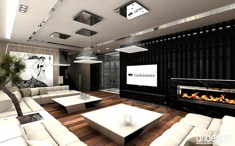 oryginalne luksusowe ekskluzywne wnetrza apartamentow salon