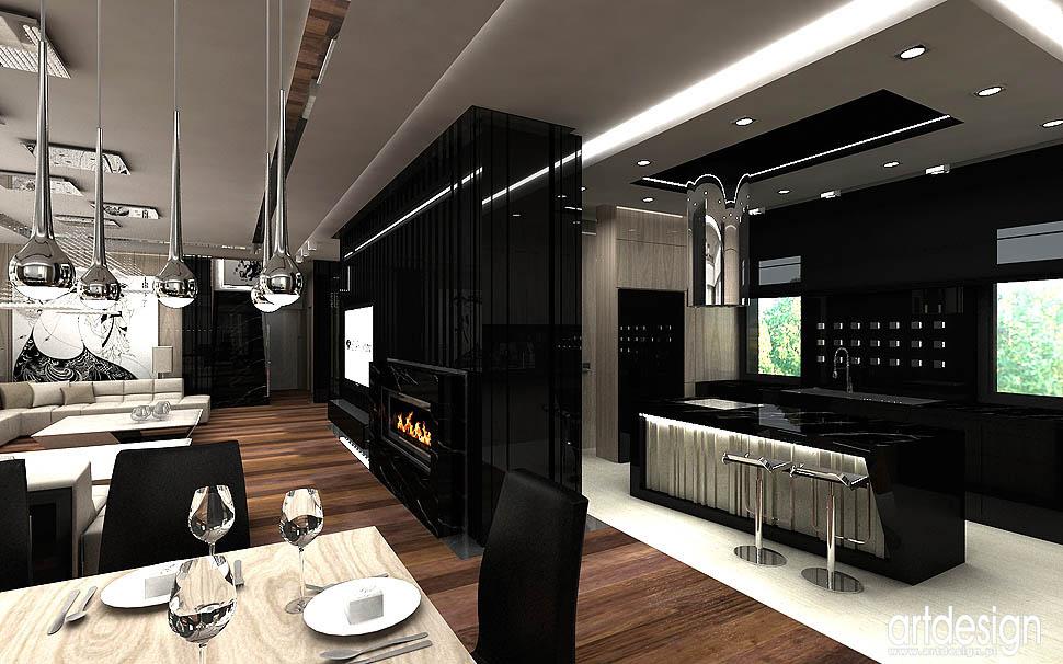 design wnetrz projekty architekci angel wawel kuchnia otwarta