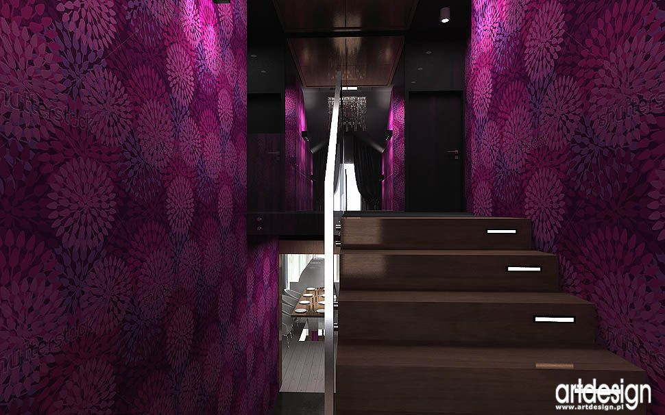 projekt schodow klatki schodowej wnetrza
