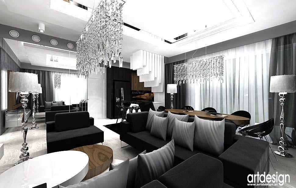 wnetrza luksusowych apartamentow deweloper salon