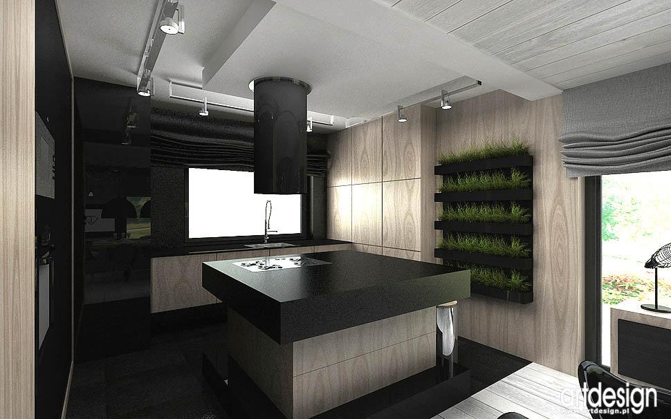 najlepszy design wnetrza kuchnia otwarta