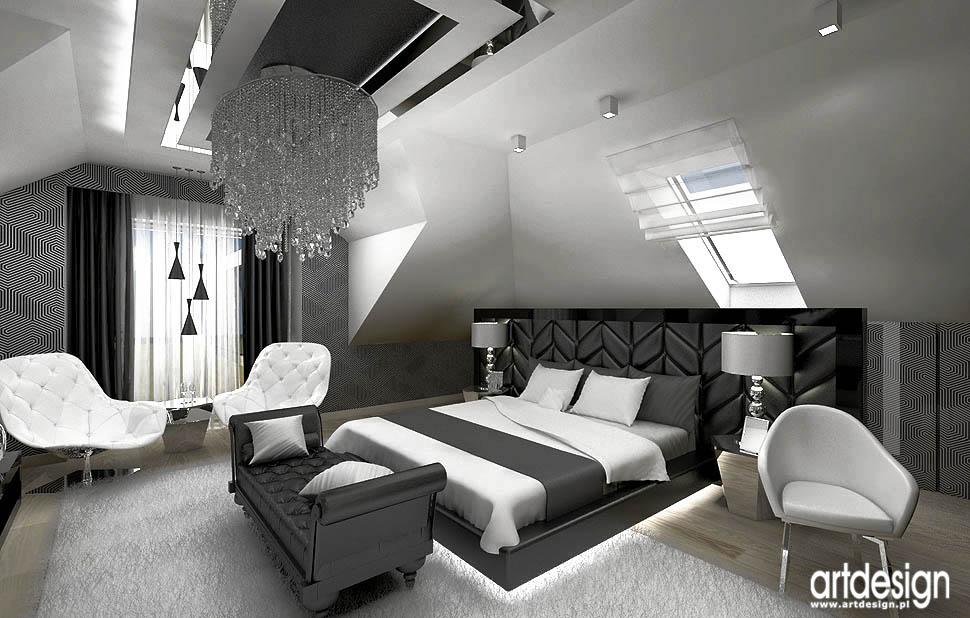 Luxury Design Sypialnia łazienka Projektowanie Wnętrz