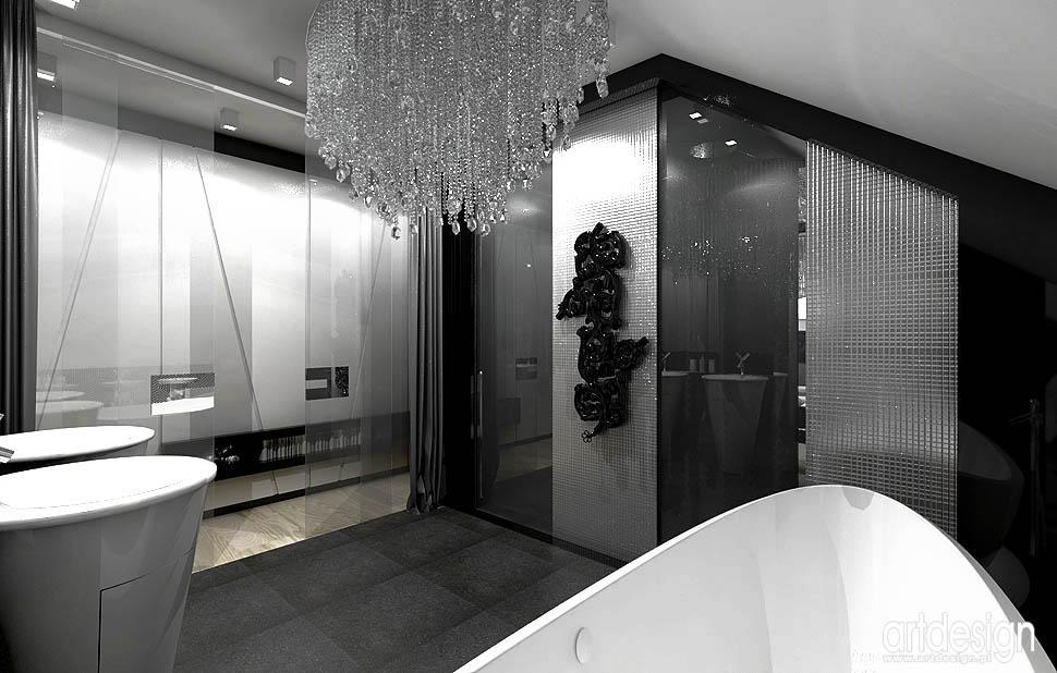 design projekt wnetrza sypialni z lazienka projekty
