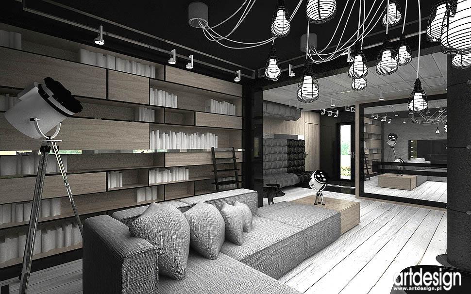 wnetrza design vinatge salon pokoj dzienny