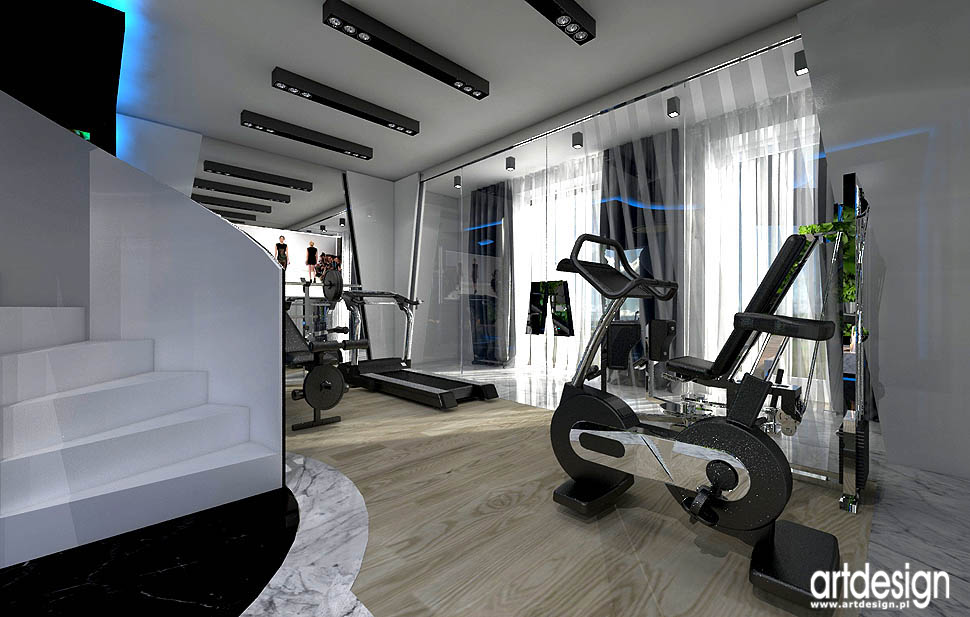projektwanie najlepsze projekty wnetrz spa fitness dom