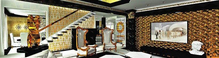 wnetrza z przepychem bogate wnetrza elegancja luksus salon