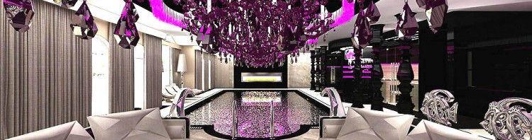 basen wnetrze rezydencja glamour