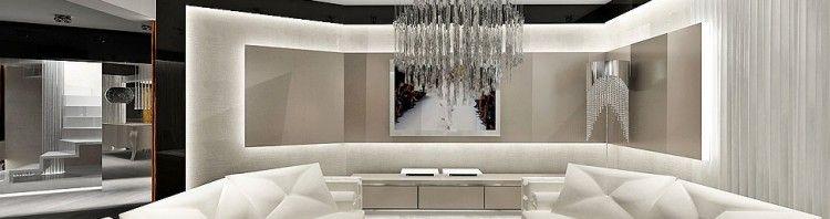 luksusowa ekskluzywna architektura wnetrz apartament salon