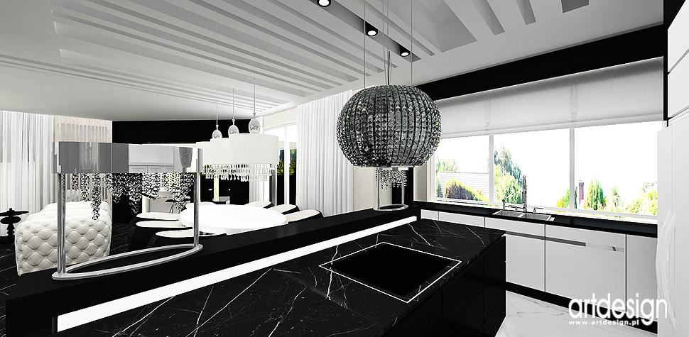 projekty wnetrza nowoczesnego domu