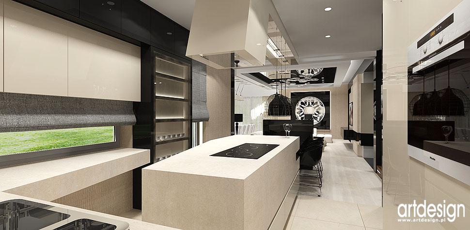 wnetrza domow apartamentow krakow luksusowe aranzacje