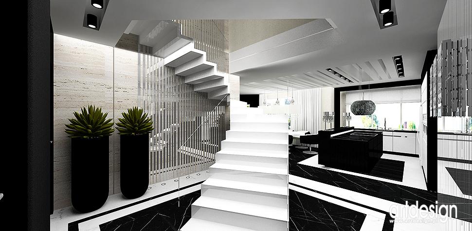 ekskluzywne wnetrza schody dywanowe