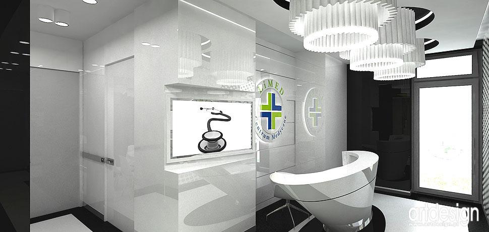 projekty wnetrz medycznych gabinetow luksusowych ekskluzywne
