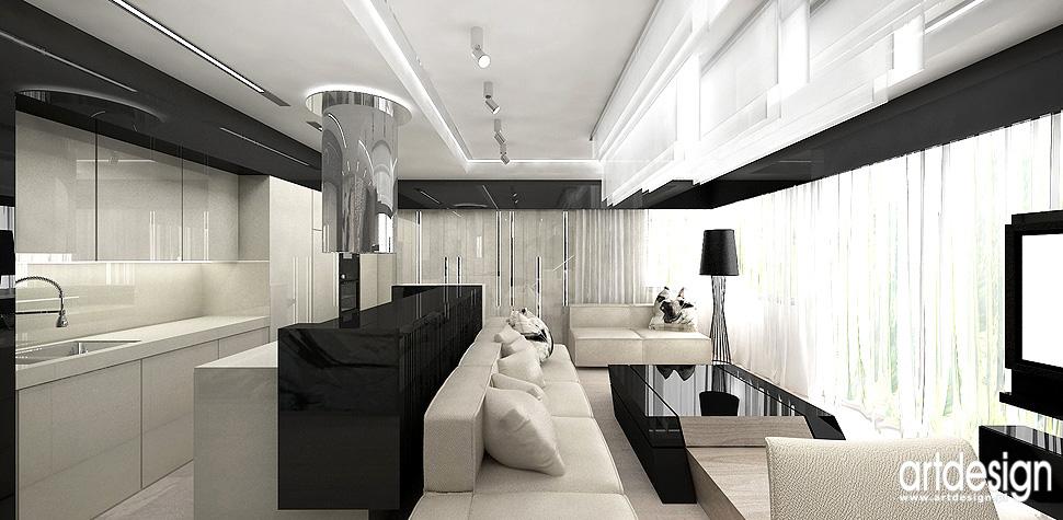 wnetrza doskonale projekty Krakow salon