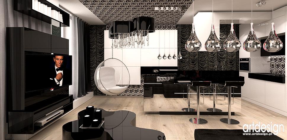 apartament Krakow projekty wnetrz
