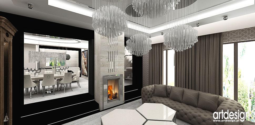 wnetrza luksusowego domu