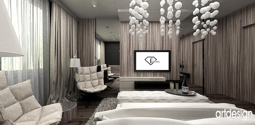 wnetrza projekty design sypialnia