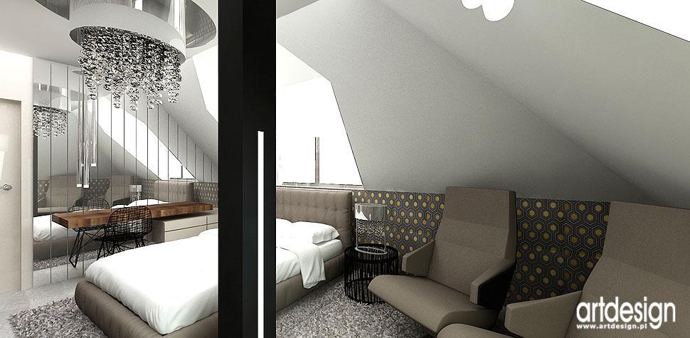 wnetrza architektura sypialnia