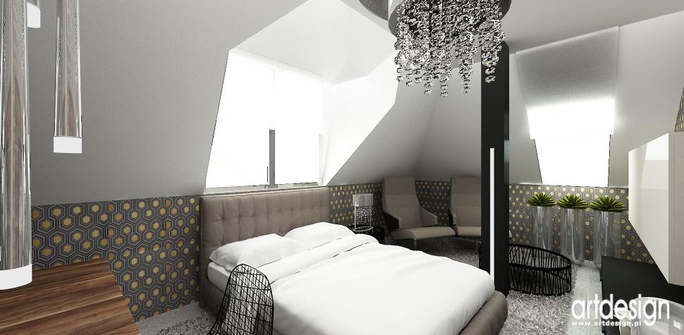 pokoj sypialnia wnetrza architektura