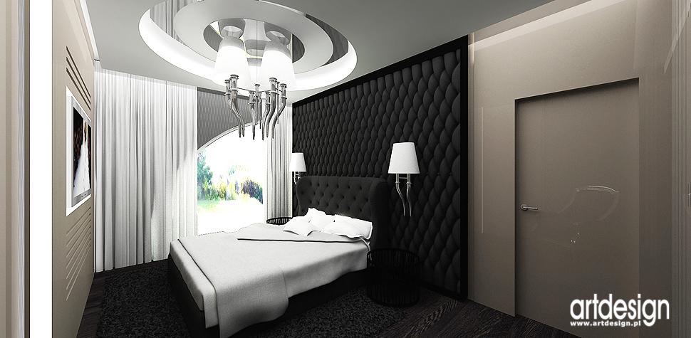 luksusowy design wnetrz sypialni