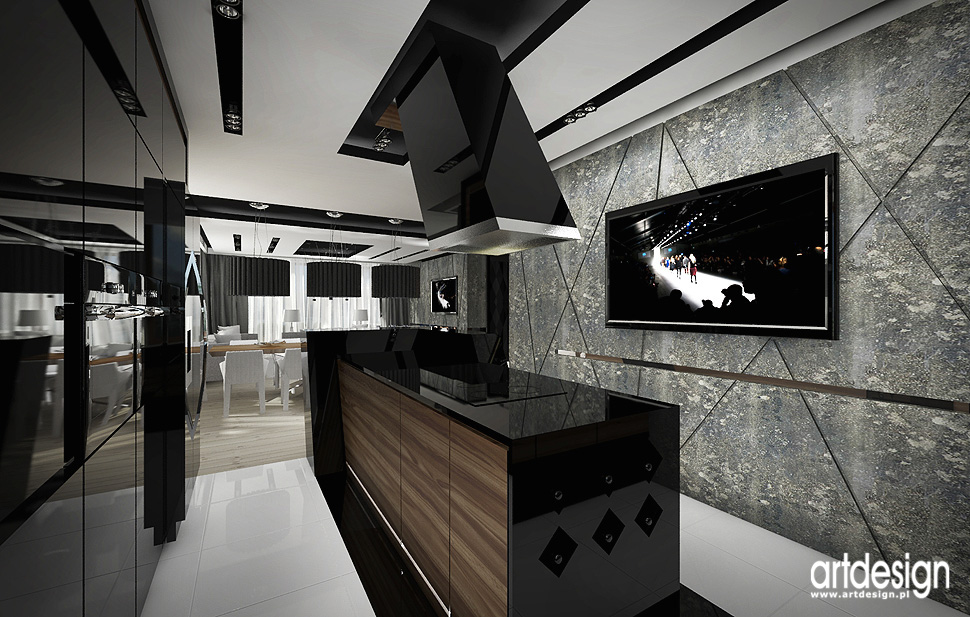 luksusowe ekskluzywne projekty wnetrz