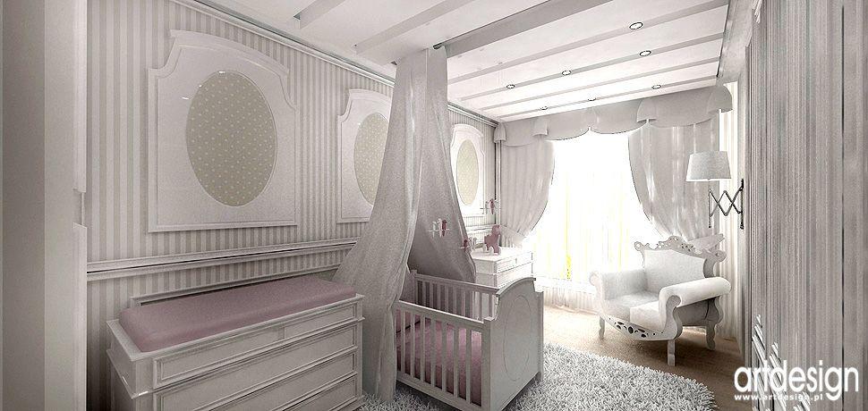 design wnetrz luksusowe wnetrza pokoj niemowlecy